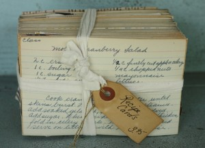 bundle-of-vintage-recipe-cards
