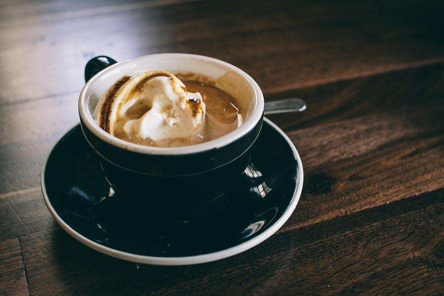 caffè con cioccolato