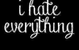 odio tutto
