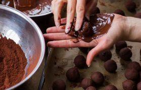 polpette di cioccolato